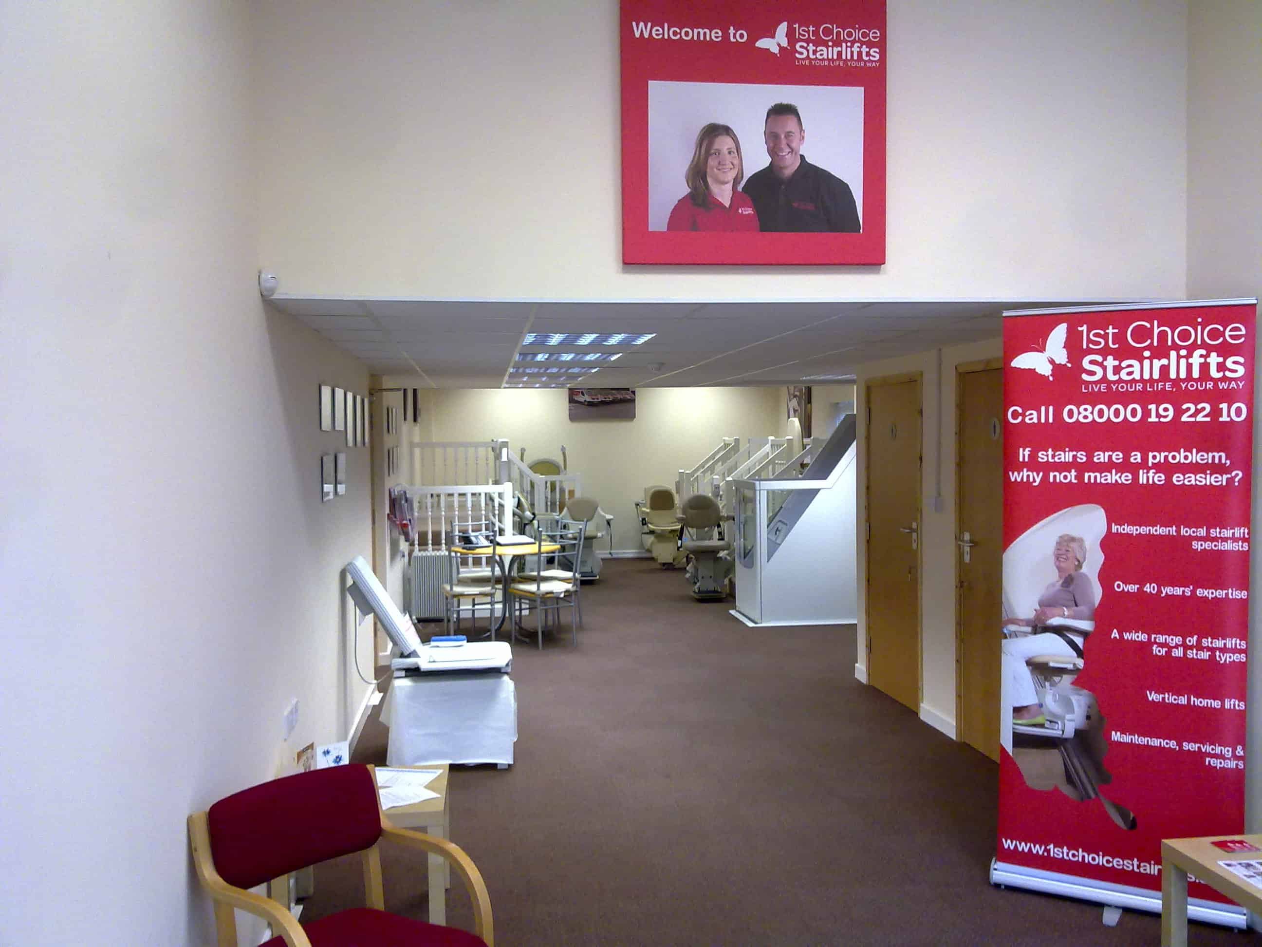 first choice mobility showroom