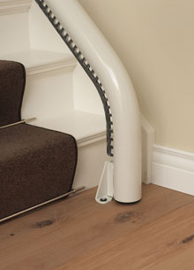 Stairlift Rail Options - 1stChoice Stairlifts