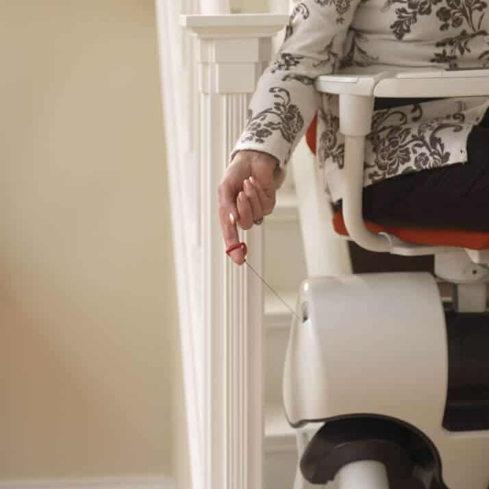 Flow Curved Stairlift from 1st Choice Stairlifts emergency release power