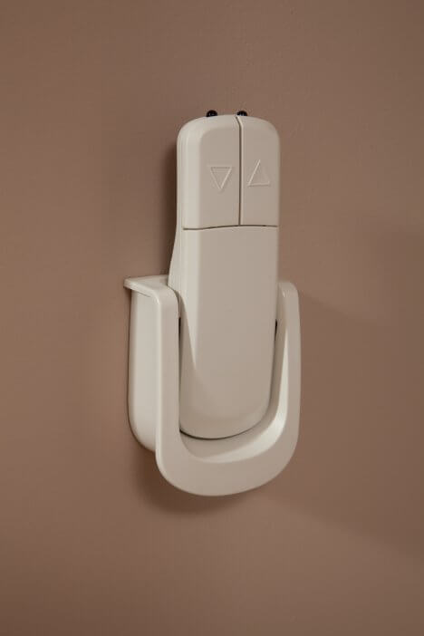 HomeGlide Extra Straight Stairlift from 1st Choice Stairlifts remote controls call and send