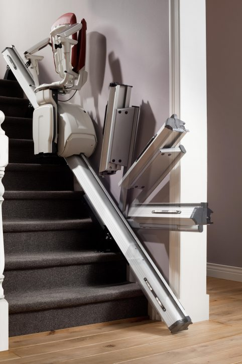 HomeGlide Extra powered folding hinge track