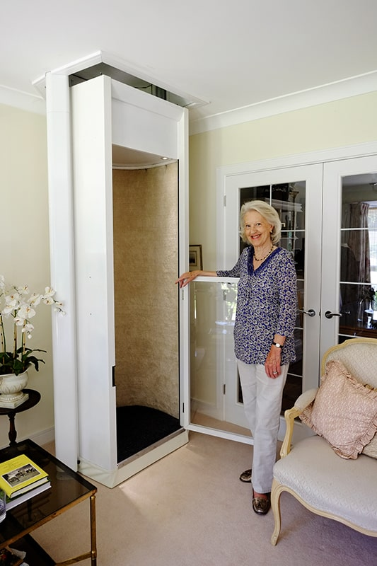 Stiltz duo home lift from 1st choice stairlifts for Cheap home elevators