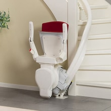 Curved Stairlift Range